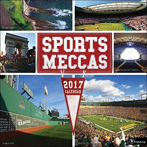 TF Publishing 171119 2017 Sports Meccas Wall Calendar