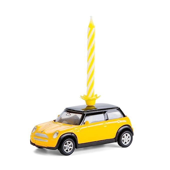 corpus delicti :: Vela sobre Ruedas - el Regalo de cumpleaños para Todos los fanáticos de Mini - Mini Cooper Metal (Amarillo)