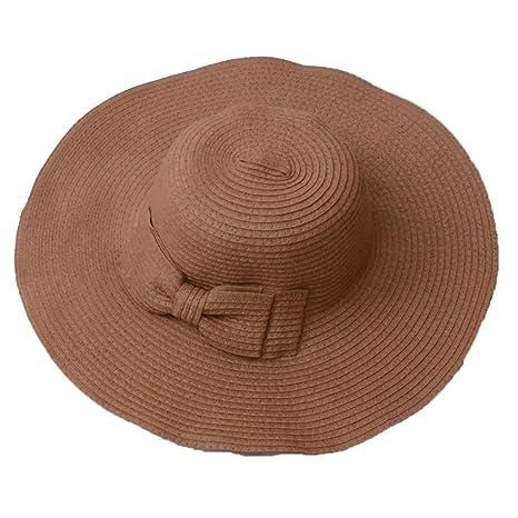 a34cb3573bb35 TREESTAR Sombrero Redondo de Verano