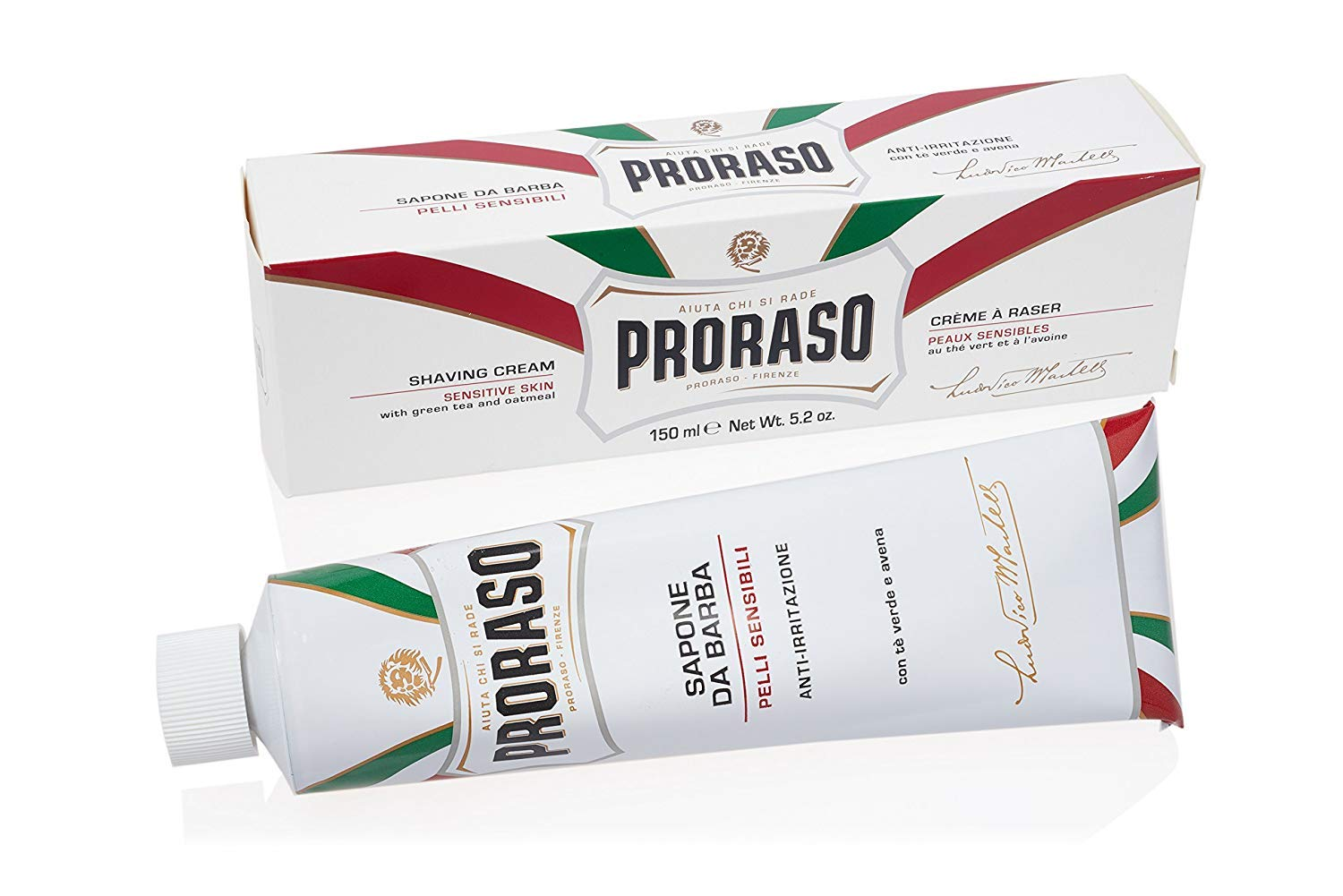 Proraso Shaving Cream, Sensitive Skin