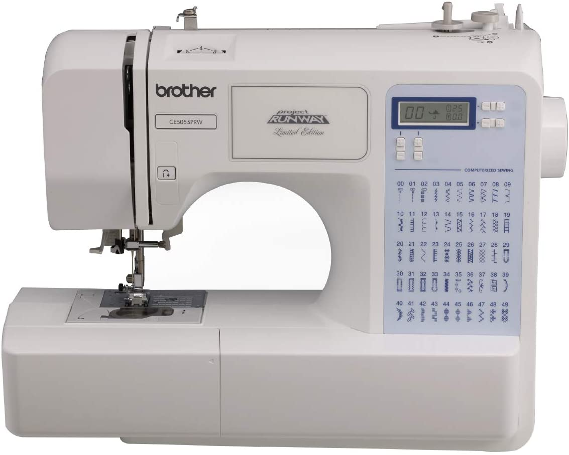 Best Heavy Duty Sewing Machine - Best electric Brother CS5055PRW Sewing Machine