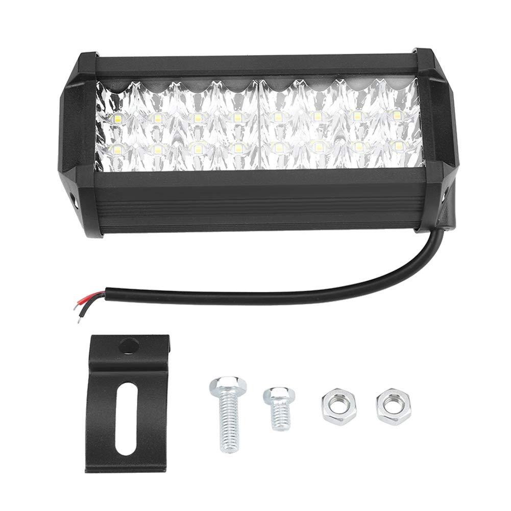 KIMISS 572W Barra Luminosa a LED a Due File Guida luci per Bar da Tetto con luci off-Road modificate
