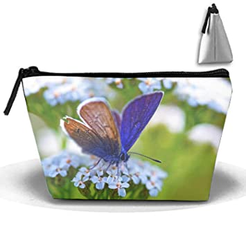 Amazon.com: Butterfly Portable Travel Cosmetic Bags ...