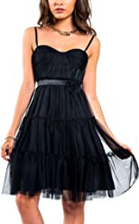 e55079169c530 Max & Cleo Vivian Jeweled Tulle Grecian Bustier Skater Cocktail Dress