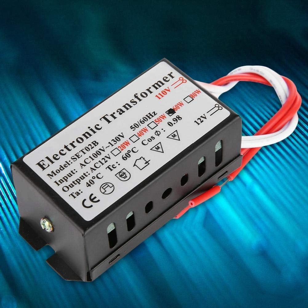 Elektronischer Transformator 110V bis 12V Elektronischer Transformator Spannungswandler Smart Power Supply Driver 120W Cosiki Spannungswandler