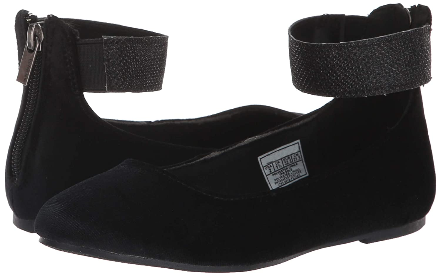 Nine West Girls FLOYCEE Ballet Flat M025 M US Little Kid Black