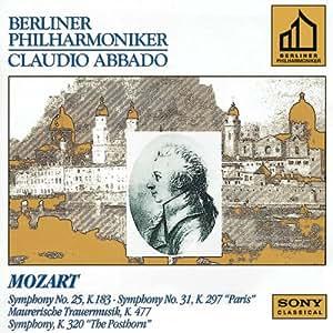 Mozart: Symphony 25 & 31; Masonic Funeral Music; Posthorn Sym.