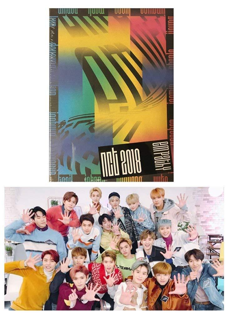 NCT - NCT 2018 EMPATHY (DREAM version) Album KPOP Music CD + Diary Card + 148p PhotoBook + Lyrics + PhotoCard Sealed + Extra Gift Photocard Set by Kinpur