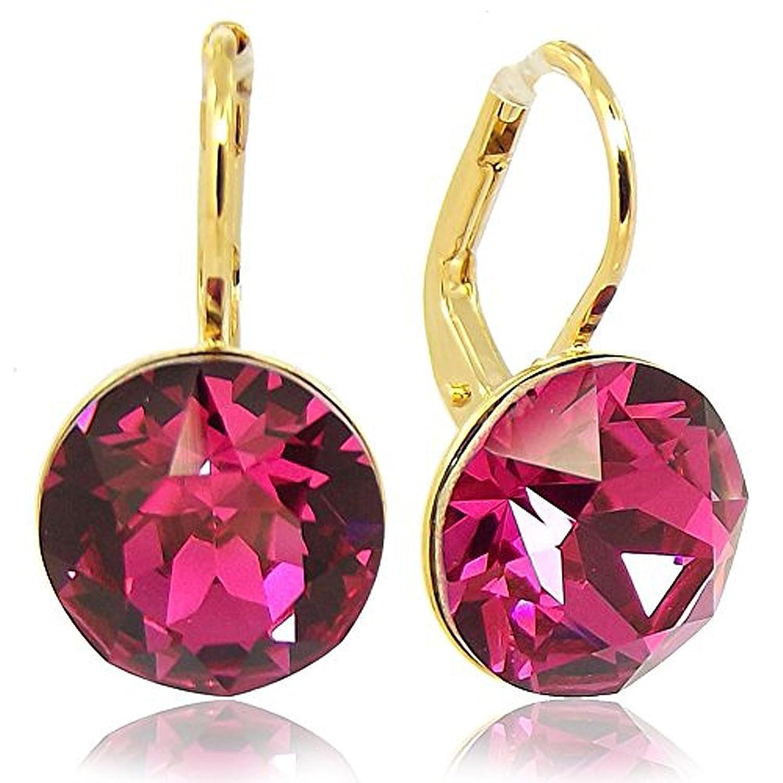 Ohrringe schmuck  Ohrringe mit Kristallen von Swarovski® für Damen - Viele Farben ...