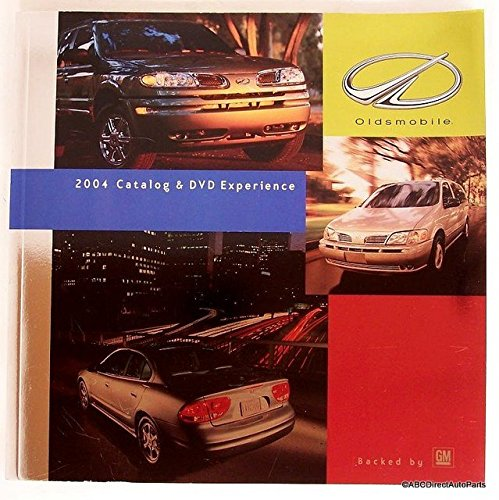 2004 Oldsmobile Full Line Dealer Sales Brochure & DVD (Oldsmobile Full Line Sales Brochure)