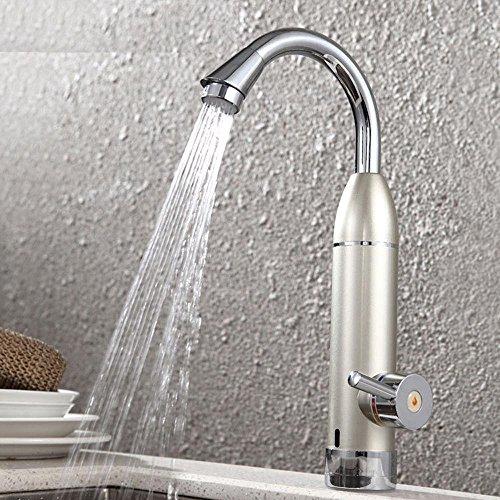 Caribou@Basin Mixer Tap Lavatory Mixer Tap Electric faucet chrome vertical natural bent copper single handle single hole thermostat wassh basin faucet