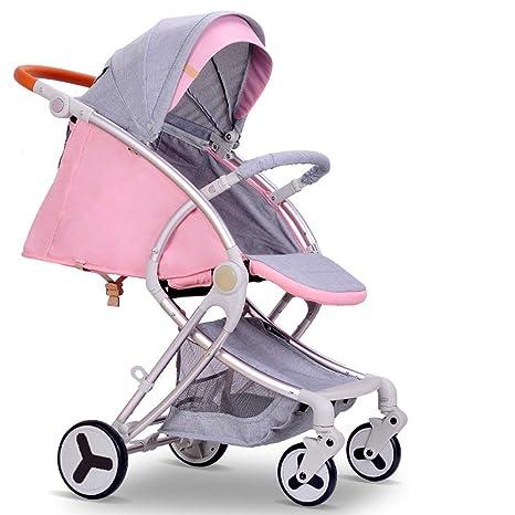 Amazon.es: HSDDA Carro de bebé Ligero Cochecito de bebé al ...