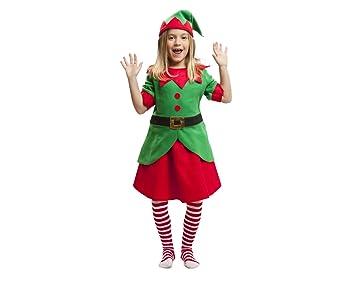 My Other Me Me-203375 Disfraz elfa para niña, 5-6 años (Viving Costumes 203375)