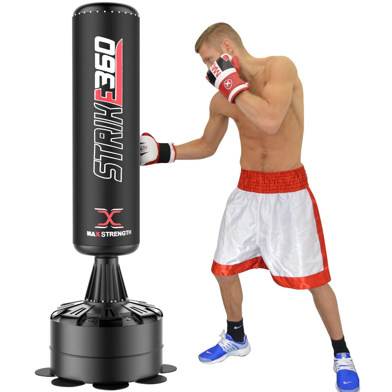 5ft Boxing Free Standing Punch Bag Freestanding Stand Boxing Training Men /&Women