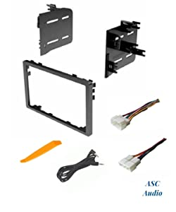 ASC Audio Car Stereo Dash Install Kit and Wire Harness for Installing an Aftermarket Double Din Radio for Select Acura Honda Vehicles - Compatible Vehicles Listed Below