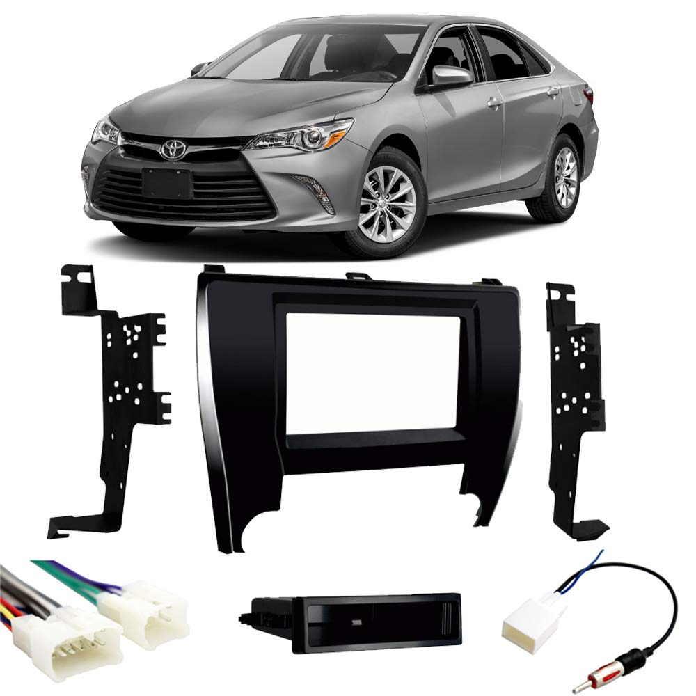 Fits Toyota Camry 2015-2017 Single or Double DIN Stereo Radio Install Dash Kit New