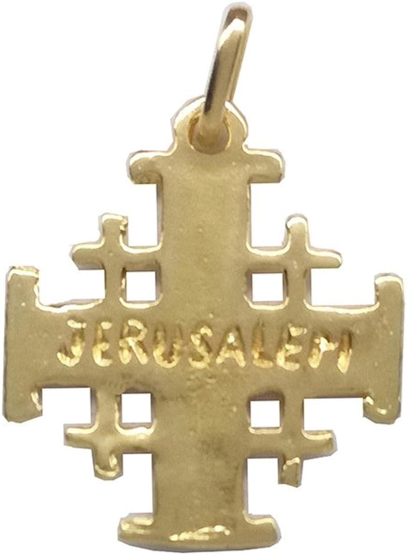 Croix de J/érusalem Or 18 K