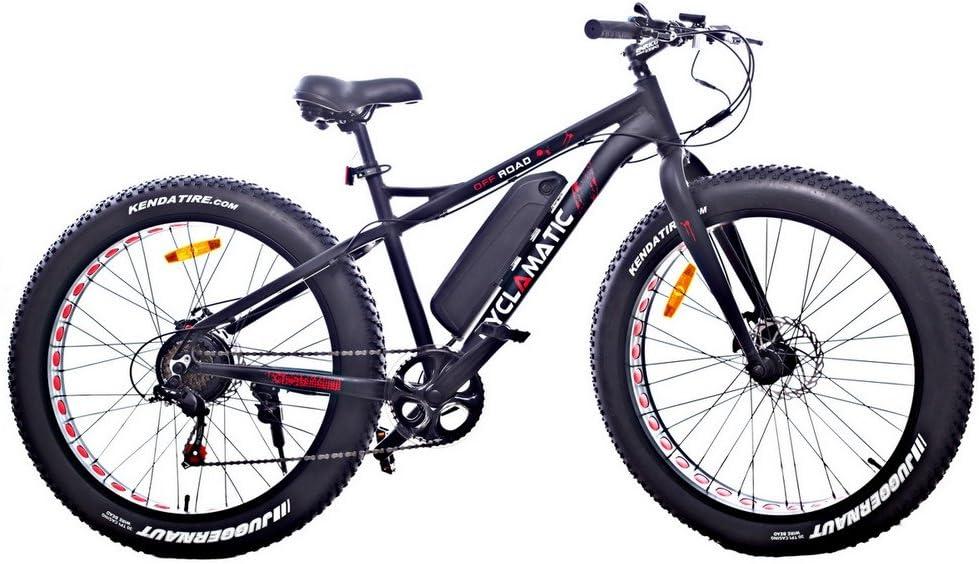 Cyclamatic Fat Tire Electric Mountain Bike/eBike