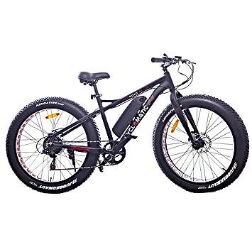 Amazon Com Cyclamatic Fat Tire Electric Mountain Bike Ebike