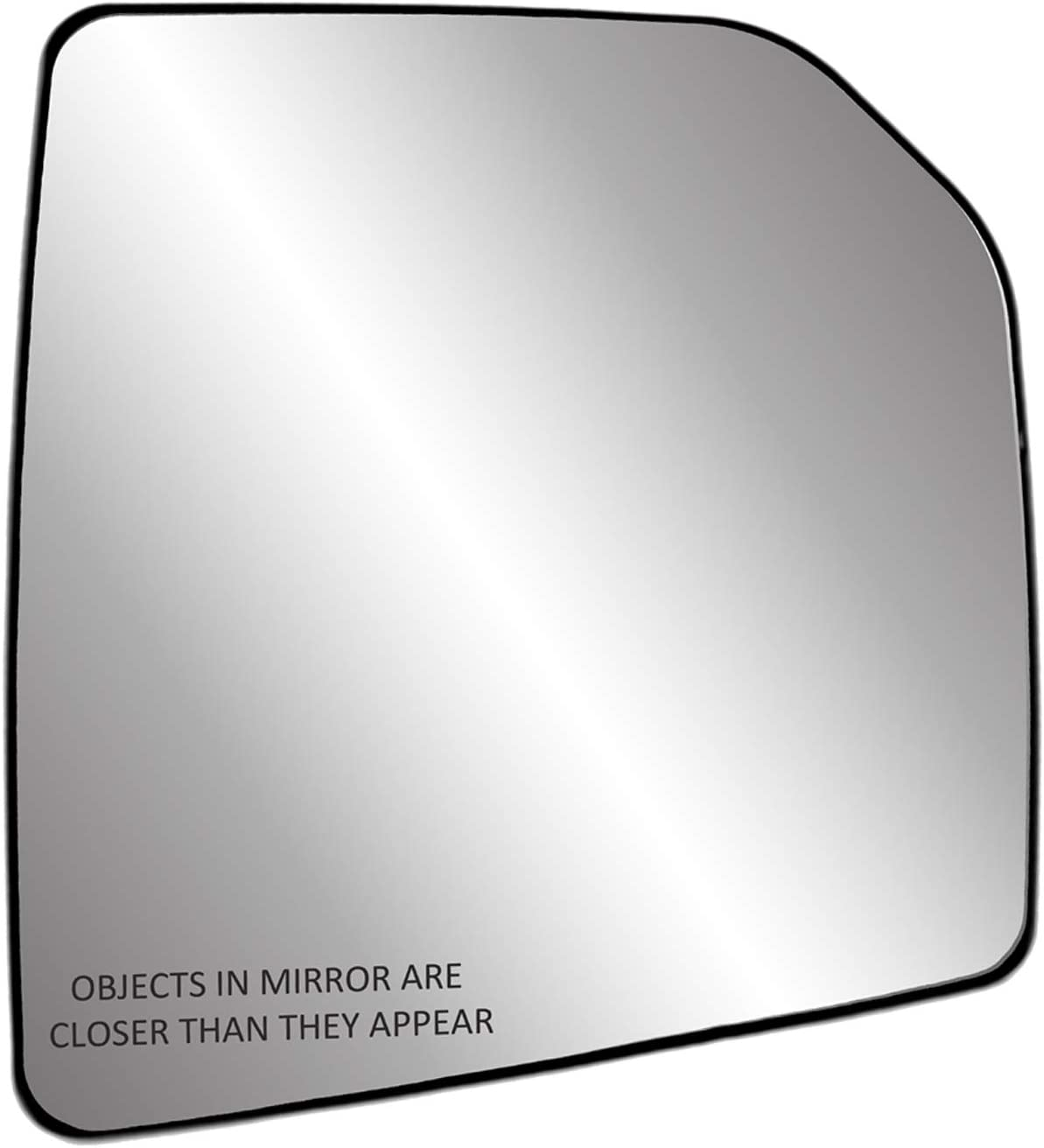 Fit System 30204 Passenger Side Heated Replacement Mirror Glass with Backing Plate