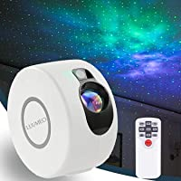 LUUMEO® Star Night Light Galaxy Projector 7 in 1 Remote Control LED Nebula Cloud Living Bedroom Decorations Home Theater…