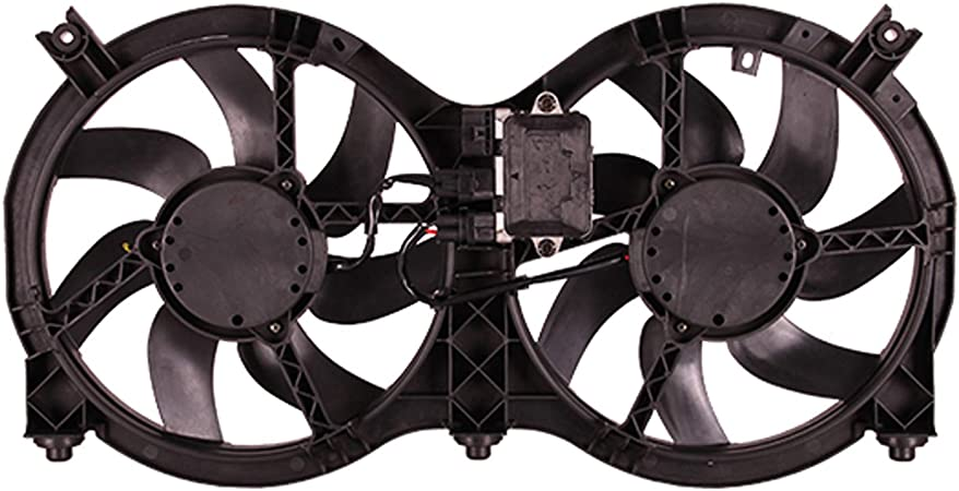 Amazon Com Oe Replacement Dual Radiator And Condenser Fan