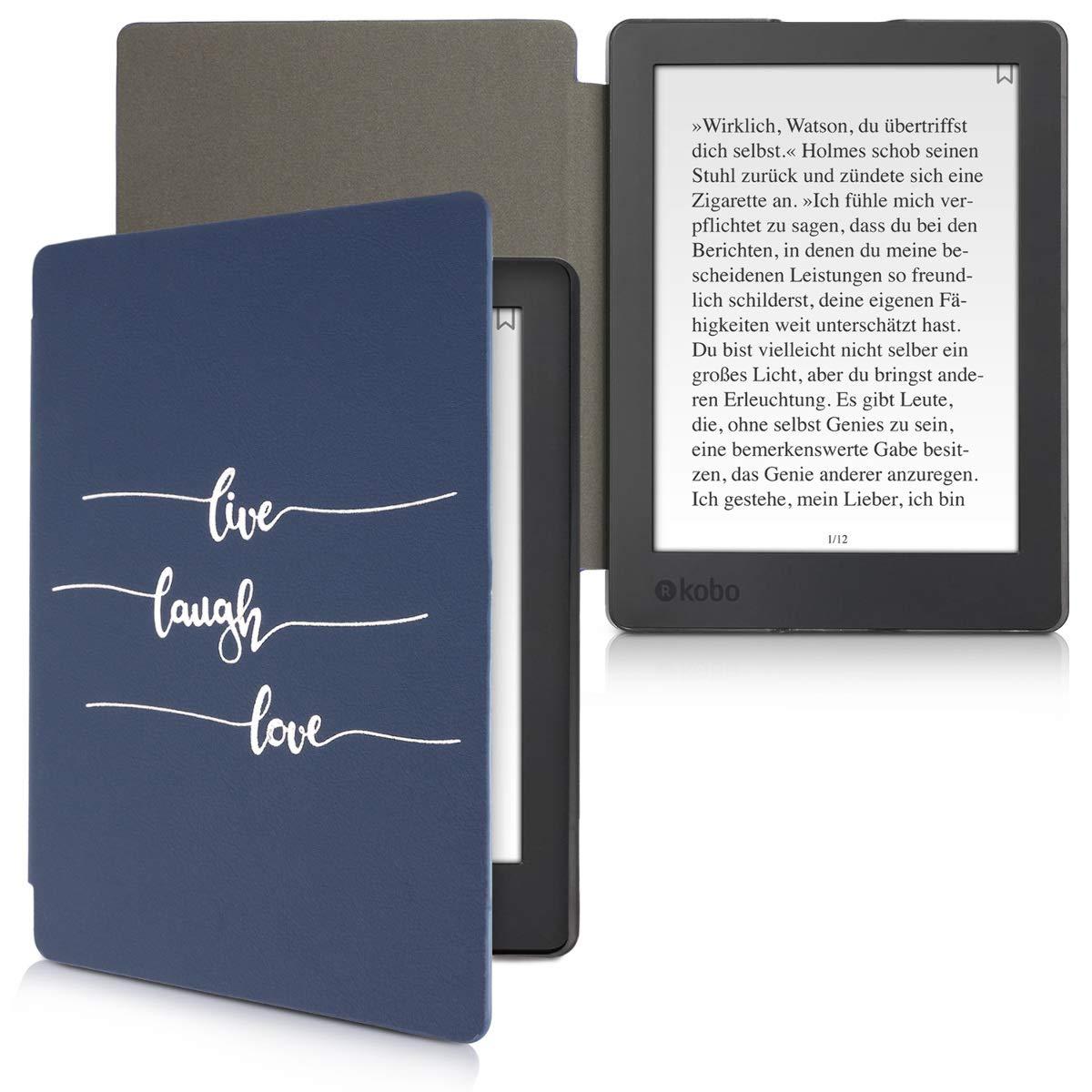 kwmobile Funda para Kobo Aura H2O Edition 2 Cuero sint/ético - Case con dise/ño postmodernista Carcasa para e-Reader de