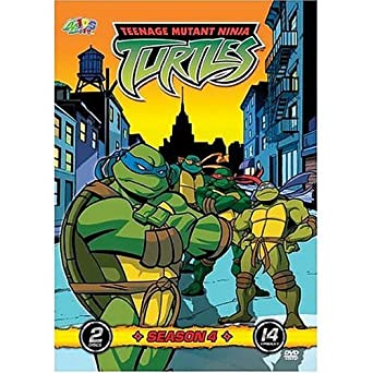 Amazon.com: Teenage Mutant Ninja Turtles: Season 4 DVD ...