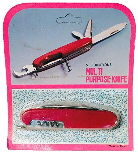 5 Functions Multi Purpose Knife