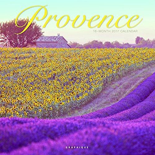 "Graphique 2017  Provence 12"" x 12"" Wall Calendar (CY14017)"