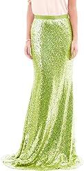 a92c816f99bd6 High Waist Sequins Skirts Mermaid Skirt Prom Skirts Plus Skirt Bridesmaid  Skirts for Wedding LLBS012