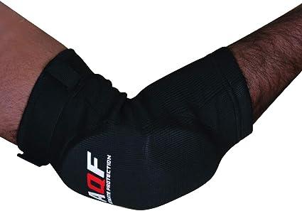 AQF Coderas de Apoyo Protectores para los Brazos para MMA Acolchados para Sports Boxeo /& Gimnasio Soporte