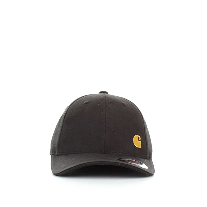 Carhartt Match Cap - Gorra para hombre, talla S, color BLACK GLOD ...