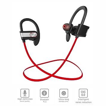 Iyowin Auriculares Bluetooth Estéreo Inalámbricos 4.1 para Correr, Deportivos de Manos Libre Resistentes al Sudor y Agua con Tecnología aptX Avanzada: ...