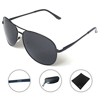 original aviator sunglasses  Amazon.com: J+S Premium Military Style Classic Aviator Sunglasses ...