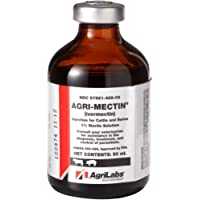 Agri-Mectin Agrimectin Ivermectin Injection for Cattle and Swine - Livestock Dewormer