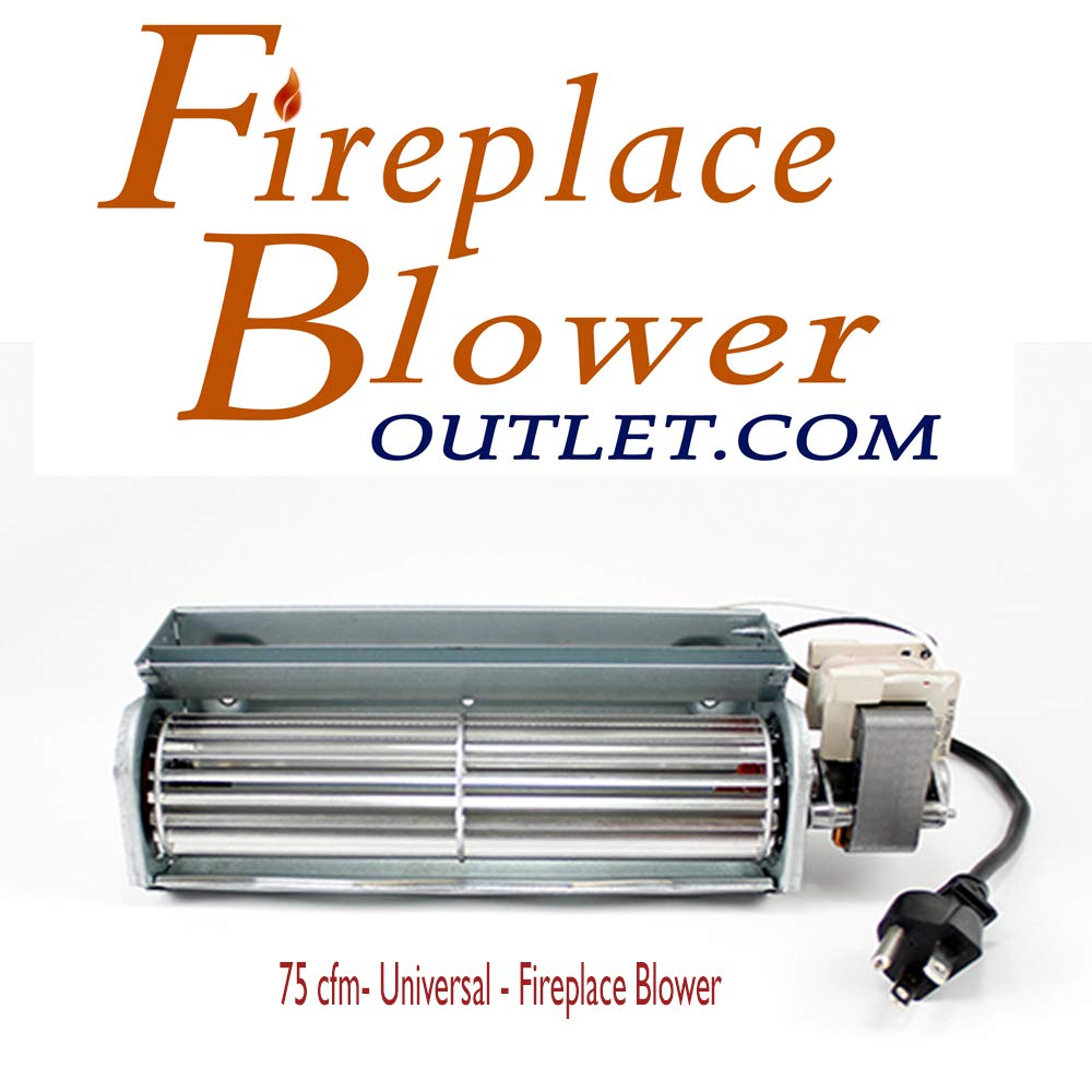 Fireplace Blower with Power Cord Fbo-75 by fireplace blower outlet