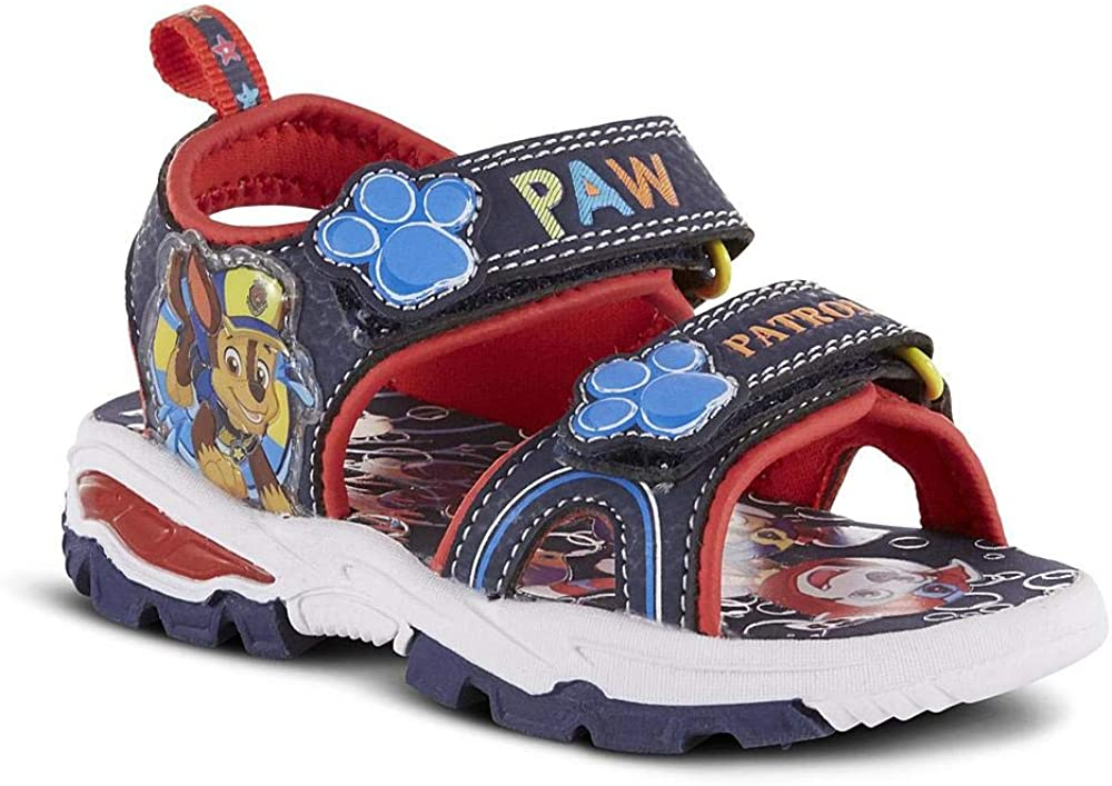 Amazon.com   Nickelodeon Boys Paw Patrol Summer Sport Sandal With Chase and  Marshall (12 M US Toddler)   Athletic & Outdoor