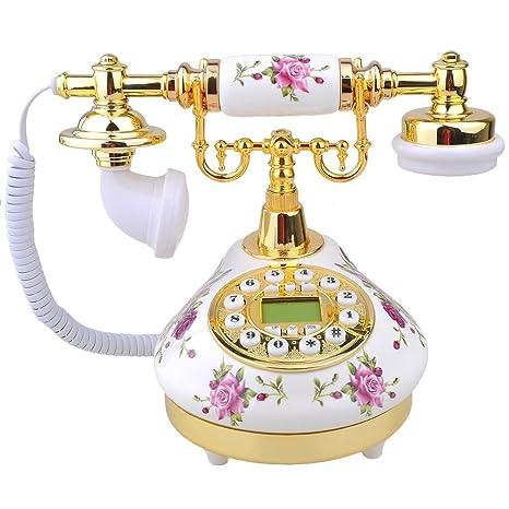 7087a02cc Buy ZIMO Zimo Retro Design Telephone Vintage Analog Telephone Nostalgia  Telephone Interior Decoration Online at Low Price in India