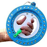 Kite Line Winder Plástico ABS Niños Durable Anti Reversión Herramientas Vuelo Profesionales Función Bloqueo damiento…