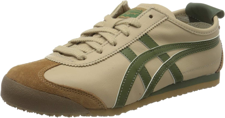 Asics Mexico 66, Zapatillas de Gimnasio Unisex Adulto, Beige/Verde Hierba, 37 EU: Amazon.es: Zapatos y complementos