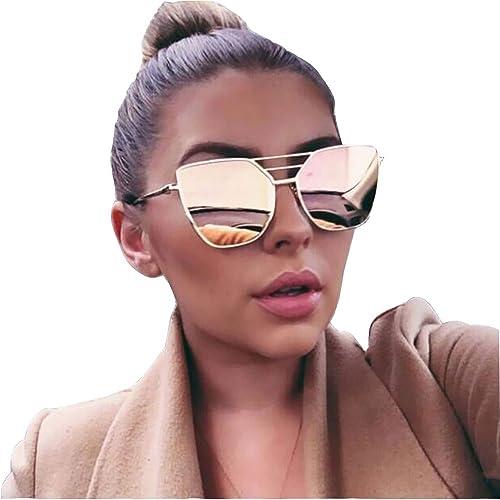 Rose Gold Sunglasses: Amazon.co.uk