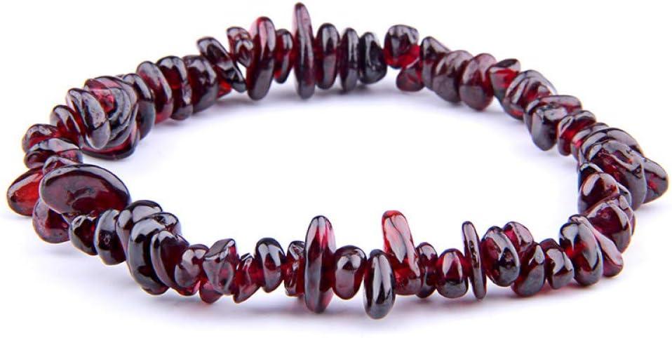 IFVCS Pulsera De Bodhihandmade Natural Chip Turquoises Fluorite Garnet Beads Stretchy Bracelet For Women Men Chakra Healing Jewelry Gifts