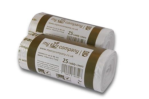 My Eco Company - Bolsas de Basura para Alimentos de Cocina ...