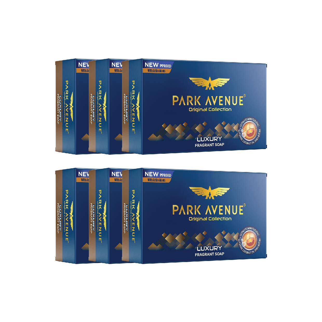Flat 23% Off on Park Avenue Soap Luxury, 125g (Pack of 6)