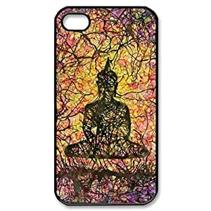 Buddha Siddhartha Gautama Shakyamuni Hard Cover Case for iPhone 5 5s case -black CASE by lolosakes