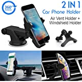 LotFancy Air Vent Cell-Phone Holder for Car (Air Vent Holder for Car)