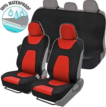 BLACK HONDA CIVIC PREMIUM CAR SEAT COVERS PROTECTORS 100/% WATERPROOF