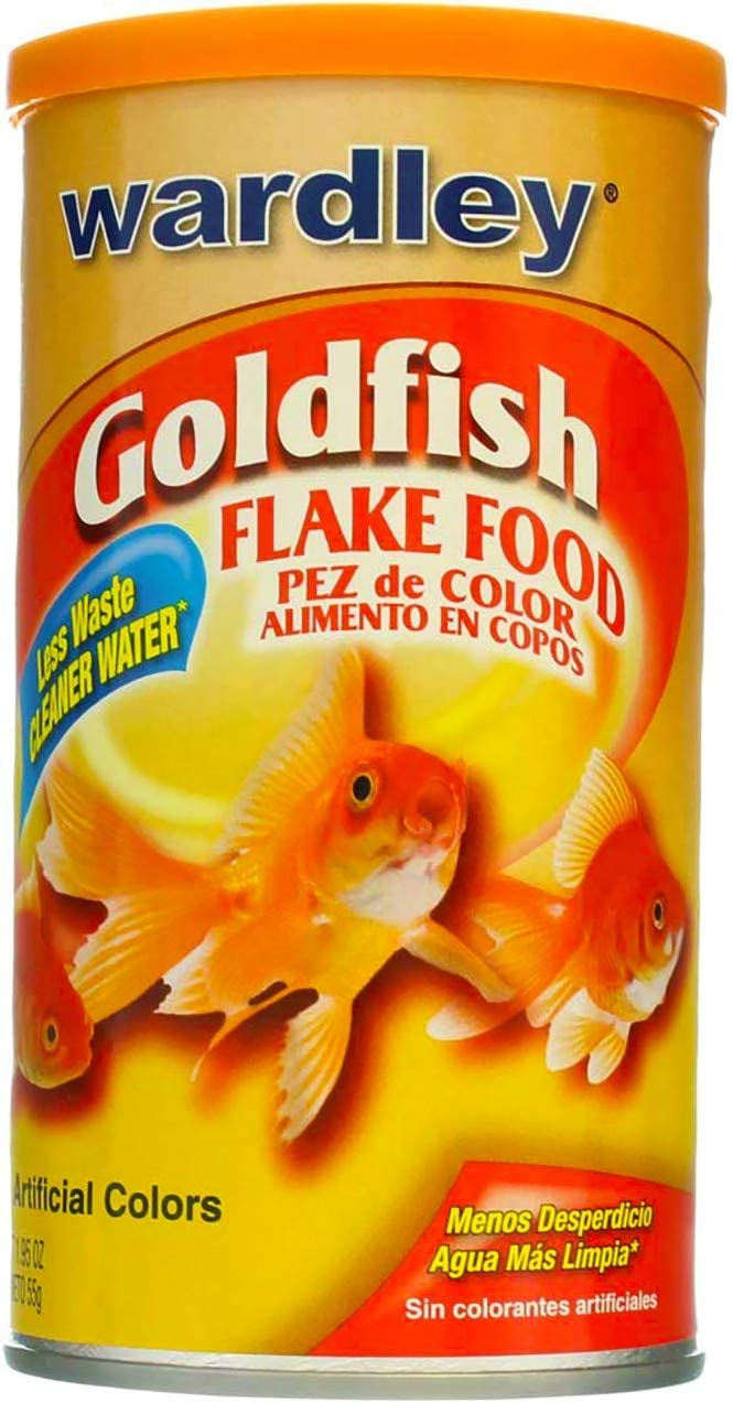 Wardley Gold Fish Flake Size: 1.95 Oz(pack of 2)
