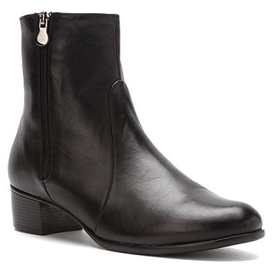 2536f215abb Munro Womens Linda Black Leather - 6.5 M(B)